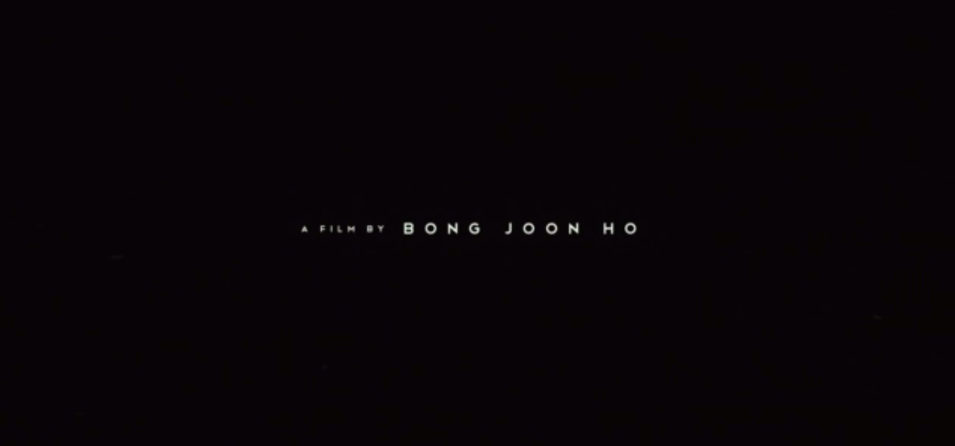 crédit Bong Joon-ho