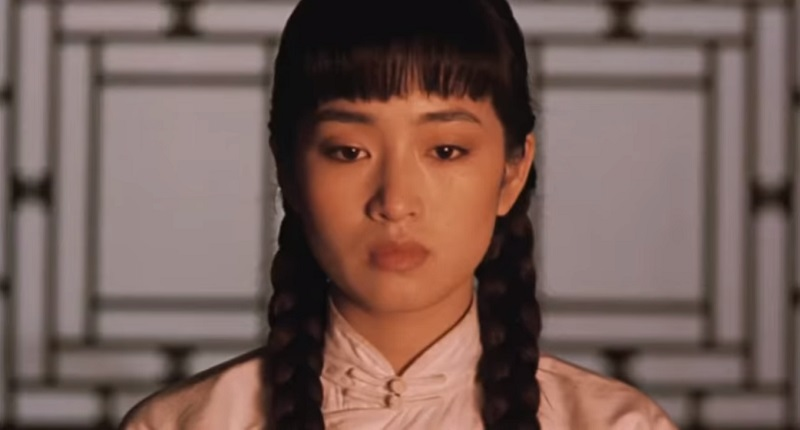 Gong Li dans Épouses et Concubines 1990 ERA International, China Film Co-Production Corporation, Century Communications