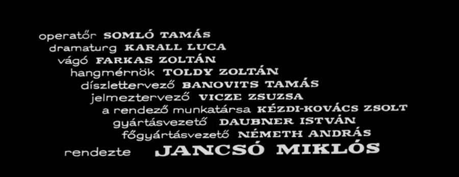 crédit Miklós Jancsó