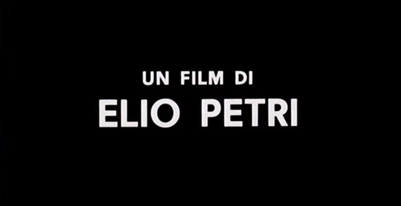 crédit Elio Petri