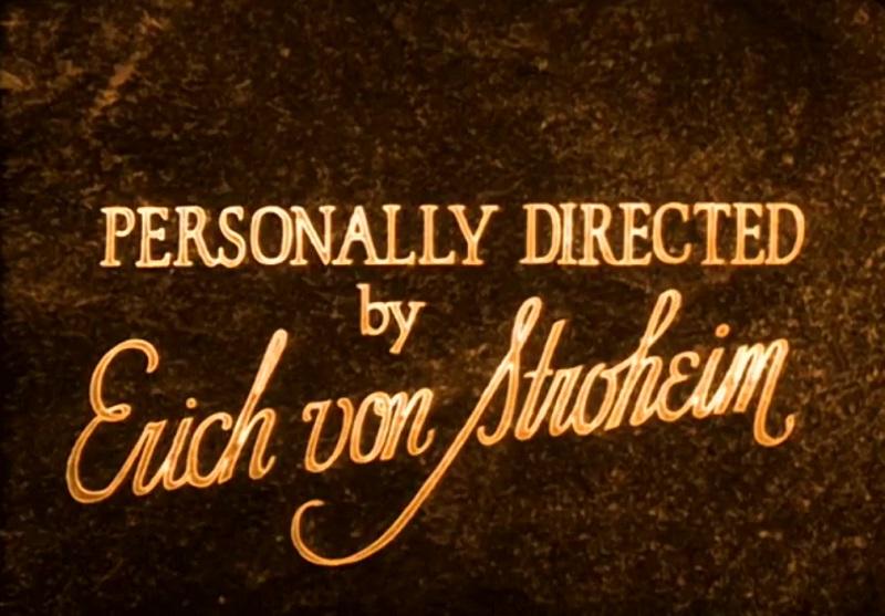 crédit Erich von Stroheim