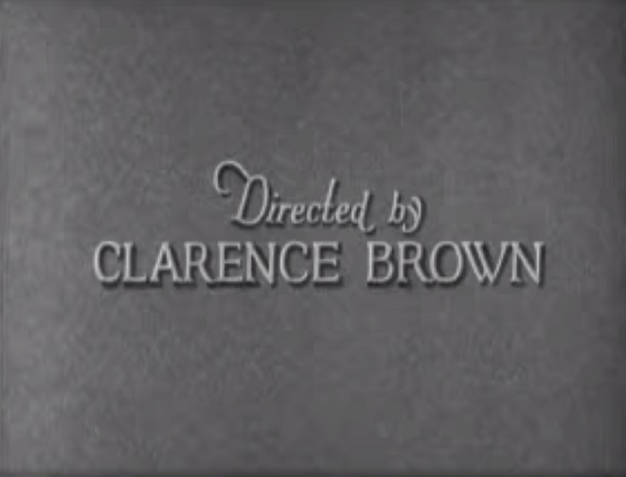 crédit Clarence Brown