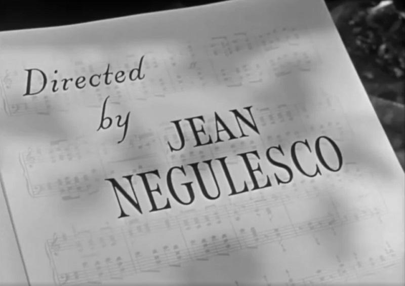 crédit Jean Negulesco