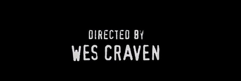 Crédit Wes Craven