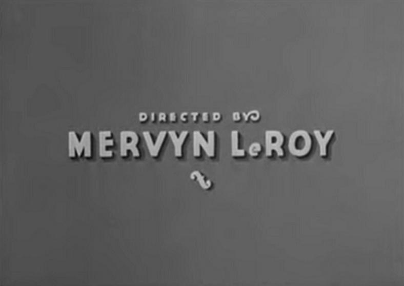 Mervyn LeRoy crédit Je suis un évadé 1932