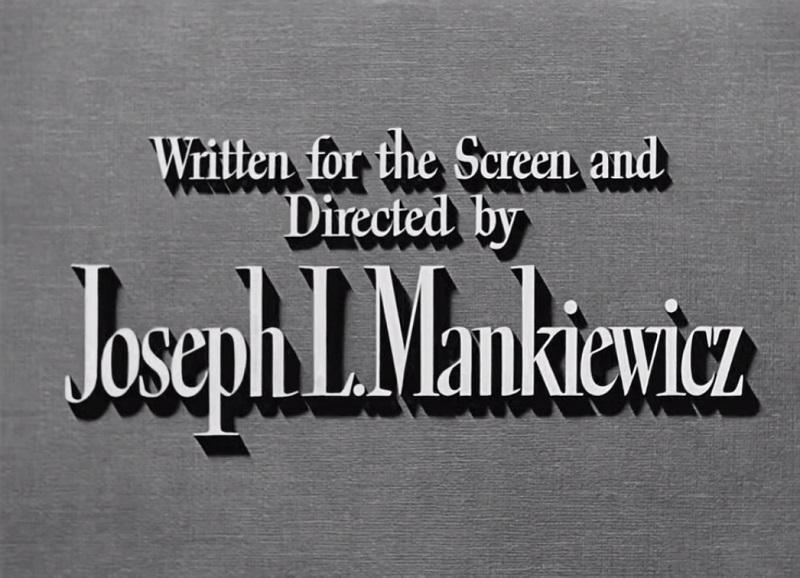 crédit Joseph L. Mankiewicz