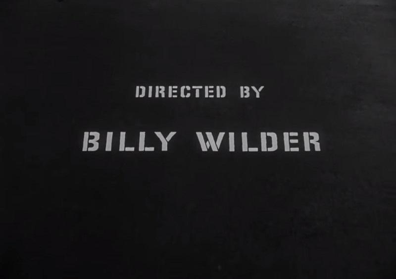 crédit Billy Wilder
