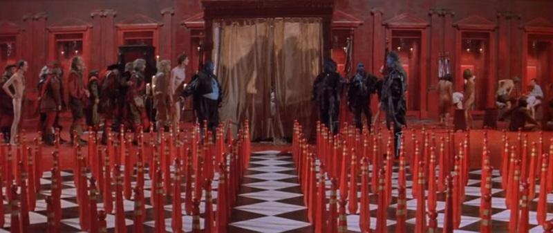 Le Bébé de Mâcon, Peter Greenaway 1993 The Baby of Mâcon Allarts, Union Générale Cinématographique (UGC), La Sept, Cine Electra, Channel Four Films, Canal+ (12)