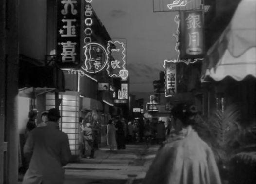 La Rue de la honte, Kenji Mizoguchi 1956 Akasen chitai Daiei Studios (4)_saveur