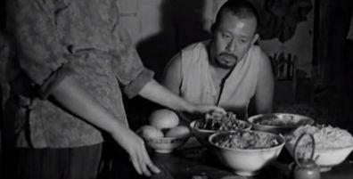 Les Démons à ma porte, Jiang Wen 2000 Guizi lai le Asian Union Film & Entertainment, Beijing Zhongbo-Times Film Planning, CMC Xiandai Trade Co (6)_saveur