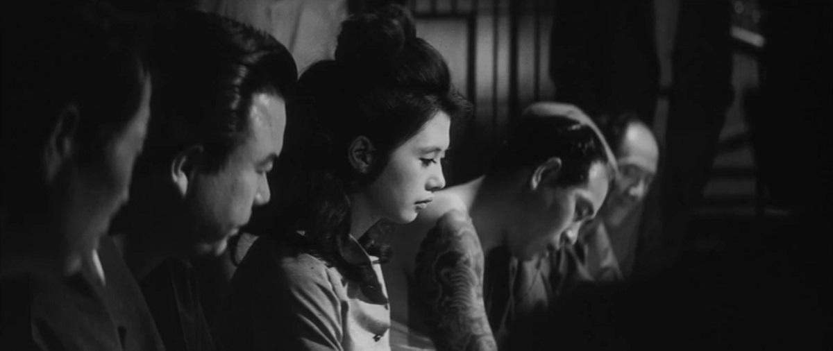 Fleur pâle, Masahiro Shinoda 1964 Pale Flower Kawaita hana Bungei Production Ninjin Club, Shochiku (3)