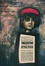 Certificat de naissance, Stanislaw Rózewicz (1961)