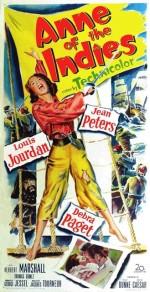 La Flibustière des Antilles (Anne of the Indies), Jacques Tourneur (1951)